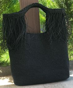 Ct, Handmade Bags, Crochet Top, Fashion, Crochet Edgings, Embroidered Bag, Bushel Baskets, Bags, Tricot