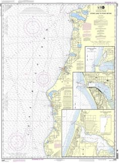 NOAA Nautical Chart 14907: Stony Lake to Point Betsie;Pentwater;Arcadia;Frankfort