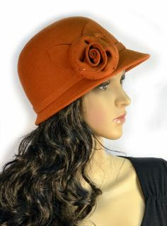 Pure Wool Cloche Women's Hat Orange Large Rhinestudded Flower SK Hat shop,http://www.amazon.com/dp/B00IB13EA8/ref=cm_sw_r_pi_dp_QWK.sb1EE9BBSS74