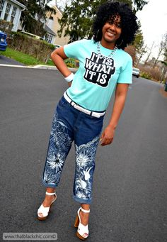 That Black Chic: Morgan Jean Round Two [Sew What Series: Morgan Jeans Closet Case Patterns]