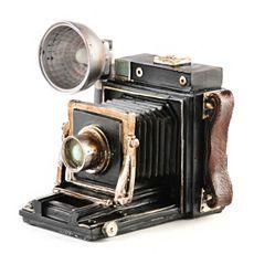 Vintage Camera Coin Bank at Kirkland's
