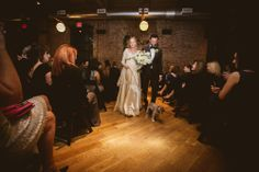 Wedding Ceremony Photos | Include Your Pet On Your Wedding Day | Walk Your Dog Down The Aisle! | NYC Brooklyn Wedding Photographer http://www.chellisemichaelphotography.com/blogs/homepage-blog/meg-mike