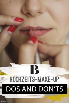 Dos and Don'ts: 12 Beautytipps für die Hochzeit – Best Wedding Beauty Vintage Makeup, Event Planning Tips, Wedding Planning, Beauty Kit, Beauty Hacks, Beauty Products, Bridal Make Up, Wedding Make Up, Perfect Wedding