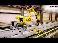 "FANUC R-2000iB ""Flying Robots"" in Camshaft Machining Center -- Courtesy of TranTek Automation"