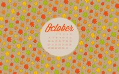 dresdencarrie: October desktop wallpaper