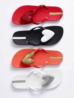 Ipanema Neo Love Flip-flop at Victoria Secret Cute Shoes, Me Too Shoes, Pretty Shoes, Flip Flop Sandals, Flip Flops, Shoe Boots, Shoes Sandals, Flat Shoes, Flat Sandals