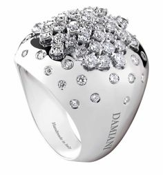 The history of Damiani jewelry is that of an Italian family with a deep-rooted tradition and a passion for the art of jewelry making. Discover all of ours luxury jewels categories as rings, earring, bracelets, necklaces and much more. Diamond Jewelry, Jewelry Rings, Fine Jewelry, Diamond Rings, Ruby Rings, Gold Jewellery, Jewelry Shop, Jewlery, Ring Set