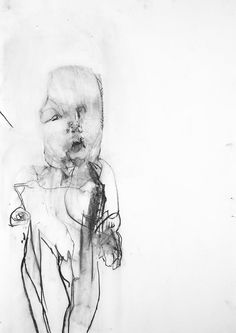 'Will'  100cm x 60cm  charcoal on paper  2002