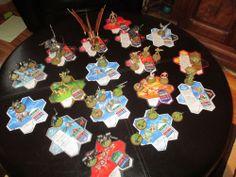Heroscape Lot: 30 Figures and 17 Cards  NE-GOK-SA  MIMRING  GRIMNAK  AIRBORNE