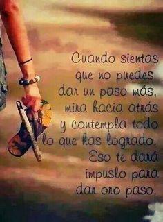 Siempre adelante! Frases en español