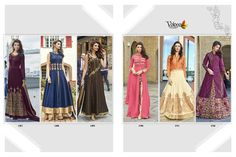Latest Collction Of Volono Trendz Present Anarkali Exclusive collection Pari Anarakali & Indowestern Suits Online shop at wholesale price only here Pakistani Suits, Anarkali Suits, Wedding Salwar Kameez, Floor Length Anarkali, Suits Online Shopping, Kamiz, Embroidery Suits, Exclusive Collection, Design Show