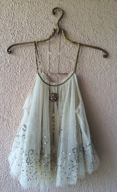 Image of Free People beaded great gatsby cami ! Free shipping and rhinestone headband as our holiday gift!!