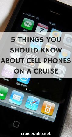 Carnival Hub Mobile App CRUISE TRAVEL MAGAZINE Carnival Cruise - Using a cellphone on a cruise ship
