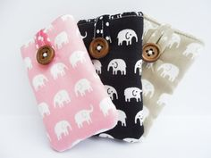 Padded Case / Pocket / Sleeve for iPod Nano by VillaRosieCreations, £6.50