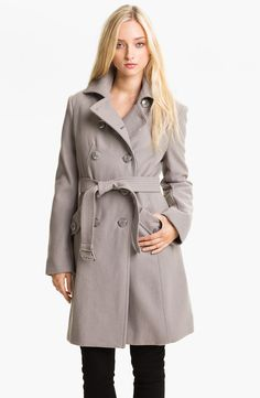 Kenneth Cole New York | Wool Blend Trench Coat $168.00