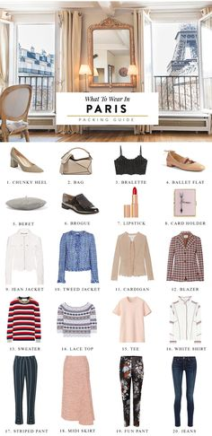 What to wear in Paris to blend in like a local Parisian! Save this handy packing list and travel fashion guide for your visit to the City of Lights.
