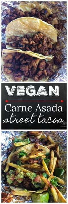 The best vegan carne asada recipe. During the Arizona vegetarian festival we had people wait up to two hours just for these tacos.