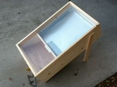 solar wax melter plans