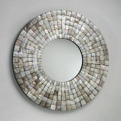 Check out the Cyan Design 02798 Mosaic Tile Mirror in Capiz Shell priced at $620.00 at Homeclick.com.