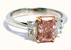 LeVian: One-of-a-Kind, Natural, Fancy Pink Diamond.