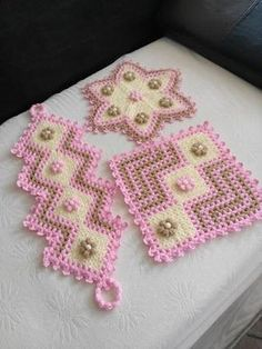 Crochet Purses, Crochet Doilies, Crochet Flowers, Crochet Stitches, Baby Knitting Patterns, Crochet Patterns, Crafts To Make And Sell, Diy And Crafts, Easy Crafts
