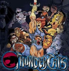 Thunder thunder thunder cats! My son's favorite cartoon! Sword of Omens give me sight beyond sight!