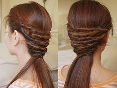 Easy Hair Twist