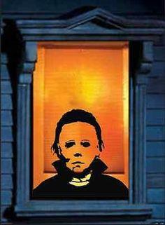Michael Myers Horrifying Wall decal Decor Vinyl Decal Sticker Scary ideas