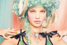 Let Them Eat Lace! by Nicoline Patricia Malina, via Behance