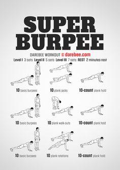 New: Super Burpee Workout