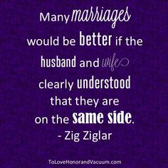 Marriage is either a win-win or a lose-lose