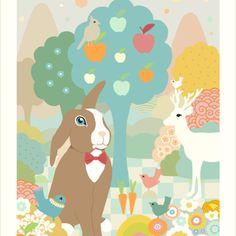Chocolate print by Majvillan