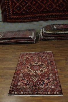 Nice Design Semi Antique Bakhtiari Isfahan Persian Rug Oriental Area Carpet 5X7 #Persian