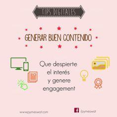#TipsDigitales Consejos para crear un buen Marketing Digital. Generar buen contenido: incluir marketing de contenidos, con el objetivo de generar leads, ya que la comunicación tradicional ya no funciona como antes. Fuente: InformaBTL #MarketingDigital #SocialMedia #RedesSociales