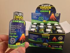 Turn on your Mojo and get an amazing energy boost whenever you need it with TUFF CHUCK energy shot.A healthier way to revitalize your body and renew your Good People, Amazing People, Great Videos, Cool Gadgets, Free Gifts, Berries, Entertaining, Make It Yourself, How To Make