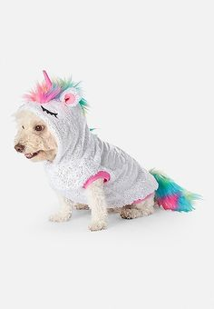 Shop Justice for the best collection toys for tween girls. Unicorn Dog Costume, Unicorn Outfit, Unicorn Room Decor, Unicorn Bedroom, Unicorn Birthday, Unicorn Party, Rainbow Unicorn, Animals And Pets, Cute Animals