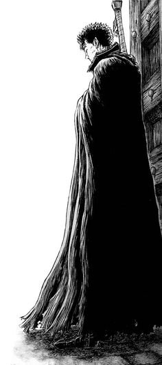 Berserk - Guts. Dark and brooding, just the way I like my heroes.