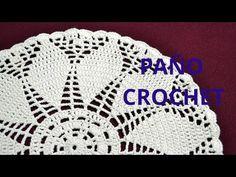 Paño Redondo en tejido crochet tutorial paso a paso. - YouTube