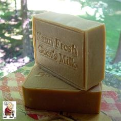 #Goat's Milk #Soap -  Nothing but the oils blended with farm fresh goat's milk, making it even more gentle and mild.  Best Body and Face Soap  Our goat milk soaps are famous for their high-quality natural ingredients and its 100% fresh goat's milk, not dried powder milk. This soap is made from pure whole fresh goat milk and is left unscented to enjoy the pure natural scent of goats milk . Goats milk is rich in proteins, vitamins and minerals.