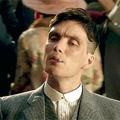 Sometimes he doesn't even smoke them . they just sit there. Pin for Later: Cillian Murphy Gives You 25 Sexy Reasons to Watch Peaky Blinders Sometimes he doesn't even smoke them . they just sit there. Peaky Blinders Tommy Shelby, Peaky Blinders Thomas, Cillian Murphy Peaky Blinders, Peaky Blinders Series, Peaky Blinders Quotes, Estilo Gangster, Shelby Brothers, Boardwalk Empire, Don Juan