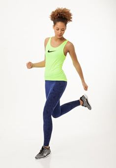 Nike Performance - LEGENDARY - Collants - deep royal blue/obsidian/black