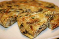 Tortilla de setas from Las Tortillas de Gabino  http://www.chowzter.com/fast-feasts/europe/Madrid/review/Las-Tortillas-de-Gabino/Tortilla-de-setas/2423_2399
