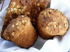 szeretetrehangoltan: Könnyű kis kenyér ( Easy Little Bread ) Biscotti, Healthy Snacks, Bakery, Muffin, Bread, Cooking, Breakfast, Easy, Recipes