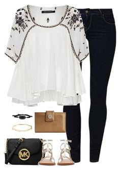 One day your life will flash before your eyes, make sure it's worth watching. -Gerald Way by kaley-ii on Polyvore featuring polyvore, fashion, style, French Connection, School Rag, Zara, MICHAEL Michael Kors, Giani Bernini, Kendra Scott and Kate Spade