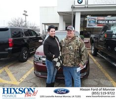 Scott was wonderful!!! We are so happy with our Ford Flex!!!-Kimberly Cameron, Monday 2/22/2016 http://www.hixsonfordmonroe.com/?utm_source=Flickr&utm_medium=DMaxxPhoto&utm_campaign=DeliveryMaxx