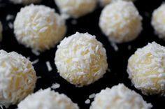 Трюфели из белого шоколада (рецепт) / Truffles with white chocolate (recipe)