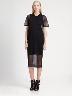 Alexander Wang Sheer Layer Dress - Interview Magazine