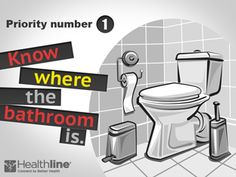 Priority #1, Know Where the Bathroom Is #Crohn's