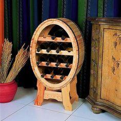 Wijnrek model wijnvat