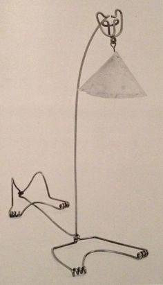 Cat Lamp by Alexander Calder